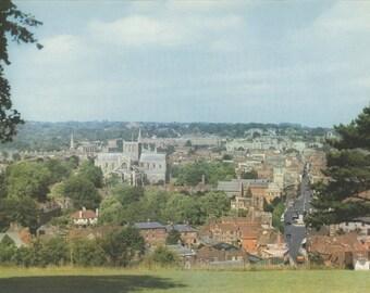 Winchester City, Hampshire, 45, English Heritage, England Photograph, Vintage Print, 1957