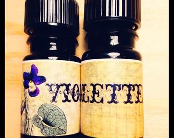 Violette- 5mL Perfume Oil- FINAL RESTOCK