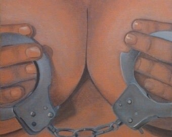 boobs and handcuffs
