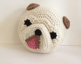 Crochet English Bulldog