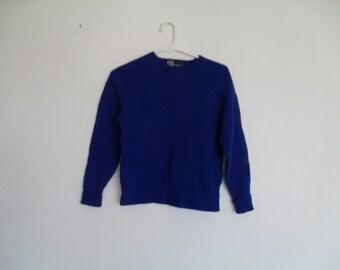 vintage early 90s classic shrunken crewneck ralph lauren sweater