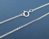 18 Inches  Rolo Chain 1.3 mm   - QTY 10  Sterling Silver Rolo Chain. NEW