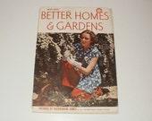 Vintage Better Homes and Gardens Magazine May 1938, Vintage Magazine, Vintage Ads, Recipes, Home Decorating, Vintage Fashions, Ephemera