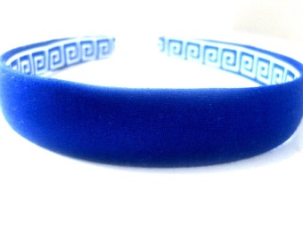 Royal Blue Headband 3/4 Inch