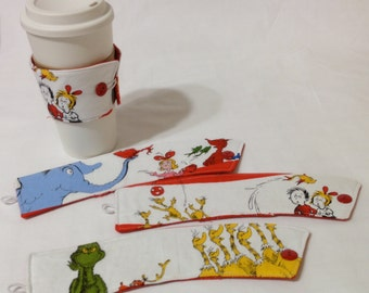 SALE *!*!*! - Dr. Seuss Coffee Cozie - *!*!*! 2 for 1 Mix and Match