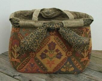 Large safari bag