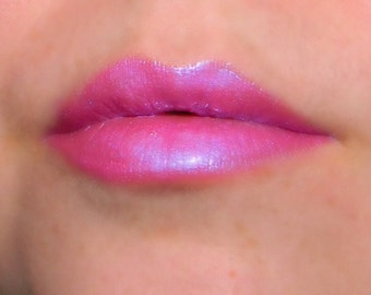 CARNIVAL Pink Purple Lip Gloss with Blue Violet  Iridescence