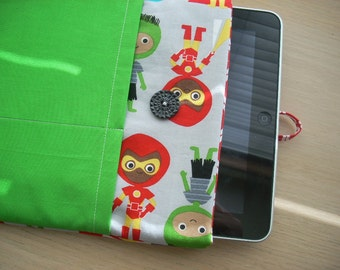 ann kelle super kids kona solid iPad cover - FREE SHIPPING