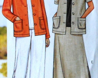 Jacket, Skirt, and Pants Sewing Pattern UNCUT Butterick 3532 Sizes 8-12