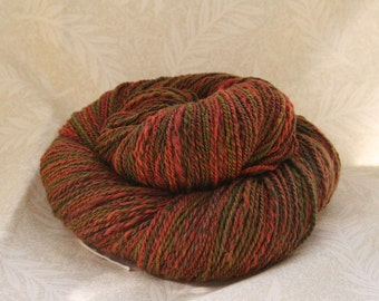 "Handspun Superwash Merino yarn - 3.6 oz ""Rose Garden"""