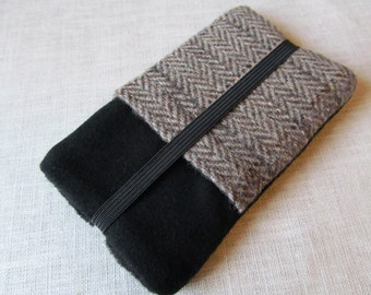 iPhone 6 iPhone 7 plus NEW Samsung S5 Harris Tweed Wool Cover