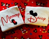Adult Mommy, Daddy, Grandma, Grandpa Mickey or Minnie Disney Shirt, Polo, or Tank  Adult - You Customize - Personalization