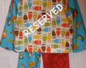 Boys Flannel Pajamas Size 5