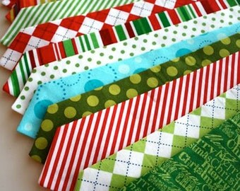 Little and Big Guy Necktie Tie - Cheerful Christmas Collection - (Newborn-Adult) - Baby Boy Toddler Teen Man - (Made to Order)