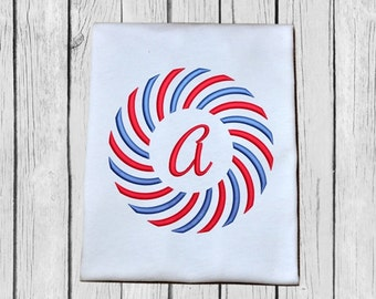 Color Burst - Sun Burst Monogram