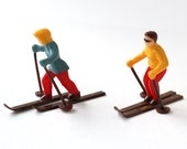 Winter Skier Cupcake Toppers (6)