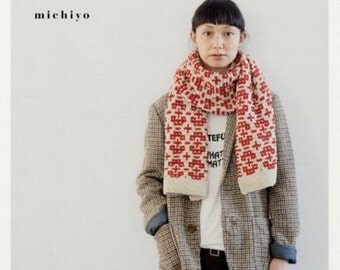 Casual Knit Clothes, michiyo, Japanese Knitting & Crochet Pattern Book for Women Clothing, Handknit Pullover, Cardigan, Wrap, Tunic, B946