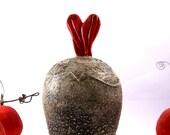 Have a Heart - Sugar Bowl - Trinket Dish - Candy Dish - Ready to Ship