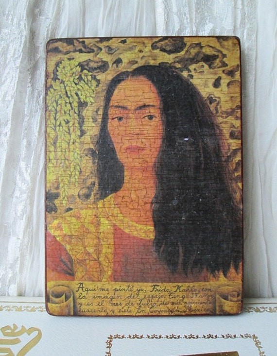 vintage frida kahlo wall decor picture home by happybdaytome frida kahlo home decor redbubble