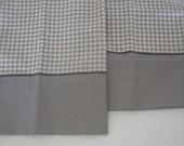 NEW 2 Pillowcases GRAY Herringbone design Westpoint Stevens