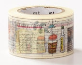 MT ex 2014 Encyclopedia Japanese Washi Tape / 30mm wide Cooking Diary