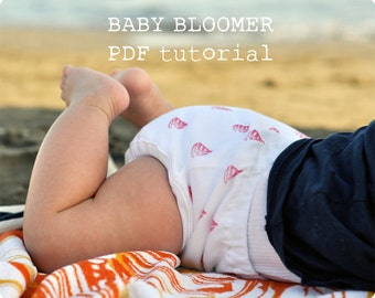 Summer baby bloomer tutorial ebook pdf