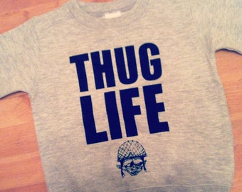 ThugLife Crewneck Sweater for toddlers