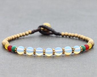 Opalite Petite Oriental Bracelet