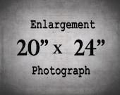 24x20 Print, Large Wall Art, Custom Enlargement, 20x24 Photograph