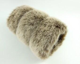 Faux Fox Fur Women's Hand Muff