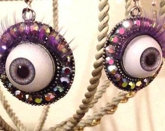 Magic Eyeball Amulet Earrings