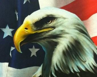 Airbrushed Eagle Shirt