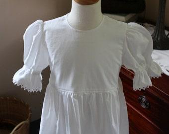 White Summer Dress Sizes 2-12