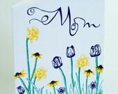 Letterpress Mother's Day Card - Garden Mom