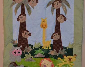 In the Jungle Baby Quilt