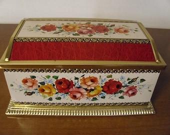 Vintage Linette Tin Box