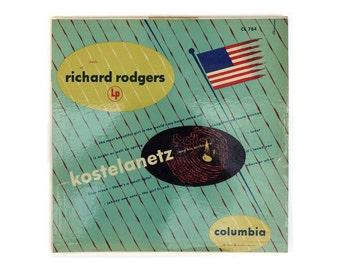 "Alex Steinweiss record album design, 1955. Andre Kostelanetz ""Music of Richard Rodgers"" LP"
