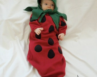 Strawberry Costume for Infant