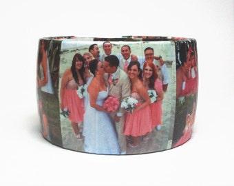 Gift for Brides - Custom Bracelet - Keepsake Jewelry - Bridal Gift - Bridal Shower Gift - Personalized Photo Bracelet - Bridesmaid Gift