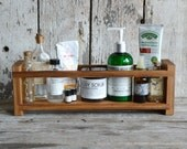 Large Apothecary Caddy by Peg and Awl, Spice Rack, Bathroom Organization, Kitchen Organization, Bathroom Shelf, Spice Cabinet, Reclaimed