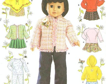 Simplicity 4297 Doll Clothes for 18 Inch Dolls - American Girl Doll Clothes - by ELAINE HEIGL