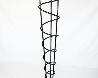 """Modern Table Legs, 40"""" Bar, Counter, or Standing Desk Height, Single Leg, Straight"""