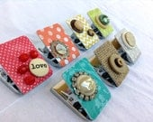 Clip Magnet - Refrigerator Magnet - Altered - Decorated - Heavy Duty Clip Magnet