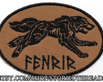 Norse Fenrir Patch