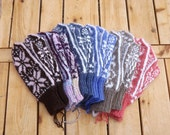 Custom Womens Wool & Baby Alpaca Mittens
