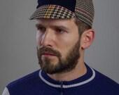Serin tweed bicycle cap 3.