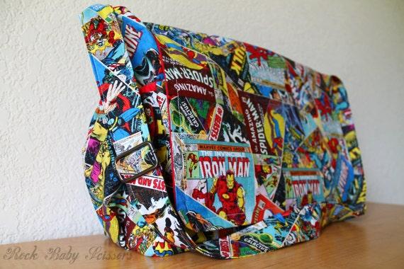 design your own messenger diaper bag nerd fandom geek you pick. Black Bedroom Furniture Sets. Home Design Ideas