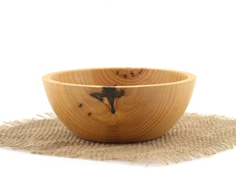 Wooden Ash Bowl / Wood Candy Dish