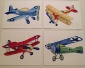VINTAGE AIRPLANES boys nursery art, tyson bedding  planes little aviator children art prints, baby boy nursery art