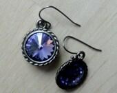Tanzanite Earrings December Birthstone Necklace December Birthday Gift Friendship Necklaces December Birth Gift